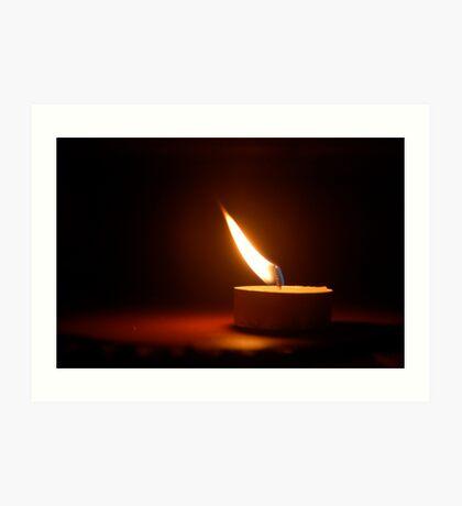 Indian Flame Art Print