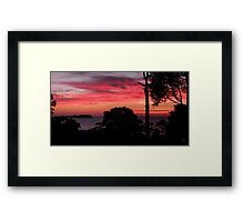The End of Summer. Framed Print
