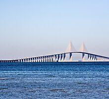 Sunshine Skyway Bridge by PhotosByHealy