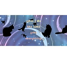 "Cat Mug Motive ""Testemony"" by scatharis"