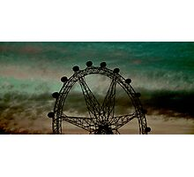 the melbourne eye Photographic Print
