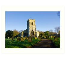 All Saints Church - Settrington Art Print
