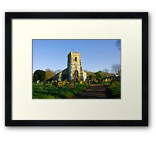 All Saints Church - Settrington Framed Print