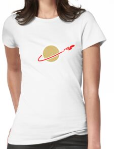 LEGO SPACE ENTERPRISE Womens Fitted T-Shirt
