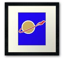 LEGO SPACE ENTERPRISE Framed Print
