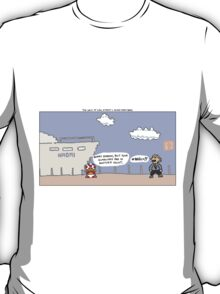 The Wolf of Wall Street + Super Mario Bros. T-Shirt