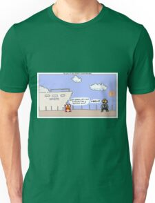The Wolf of Wall Street + Super Mario Bros. Unisex T-Shirt