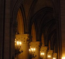 Notre Dame Cathedral by Dottie