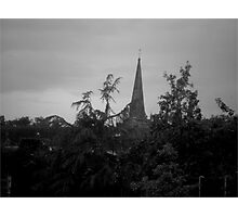 Top of the Church Photographic Print