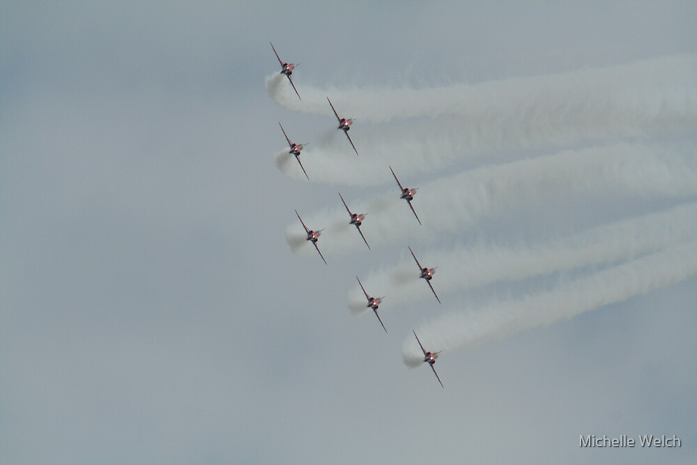 The Red Arrows 2 by Michelle Welch