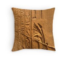 Scared Lotus Throw Pillow