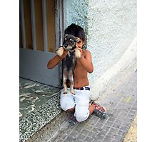 """I,ve got a dog."" Photographic Print"
