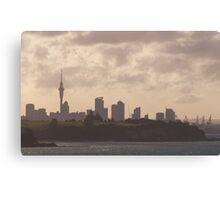 City Silhoutte Canvas Print