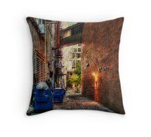 Kansas City Alley 5 Throw Pillow