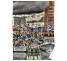 City Wharf Poster