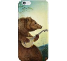 Mandolin Bear iPhone Case/Skin