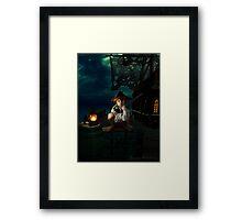 Yo Ho, A Pirates Life for Me Framed Print