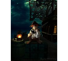 Yo Ho, A Pirates Life for Me Photographic Print