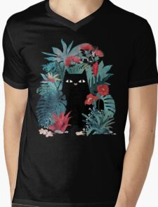 Popoki Mens V-Neck T-Shirt