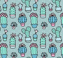 Pretty Cacti by zoel