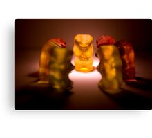 Gummy Bear Photography - A Summit Conference  Canvas Print