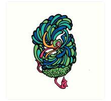 Crazy Bird Art Print