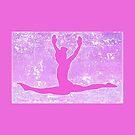 The Gymnast ~ Bright Pink Version by Susan Werby