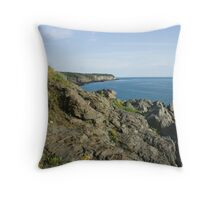 Sawpit Throw Pillow
