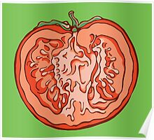 Anatomic Tomato Poster