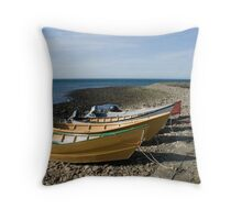 Small Dories Throw Pillow
