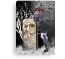 Nightmare .. tale of the undead Metal Print