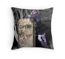 Nightmare .. tale of the undead Throw Pillow