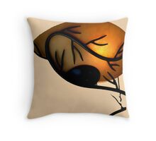 Branches On Lamp Throw Pillow