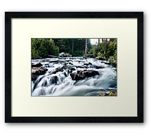 Farewell Bend Framed Print