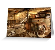 Dump Truck Greeting Card