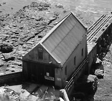 Lizard Point Old Lifeboat Station by Judy Barber