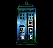 TARDIS - 'It's bigger on the inside' quote by lotifer