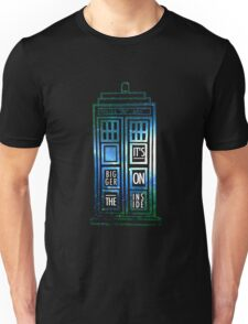TARDIS - 'It's bigger on the inside' quote Unisex T-Shirt
