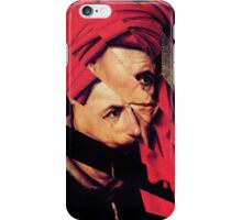 Hockney Renaissance Triptich (Conversation Between Three Muses.). iPhone Case/Skin