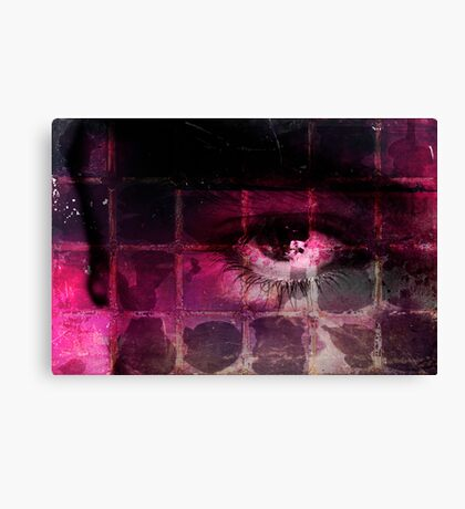 This dark night is even more black because your gaze no longer makes me shudder Canvas Print
