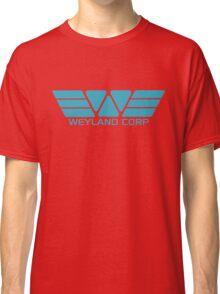 Weyland Corp logo - Alien - Blue Classic T-Shirt