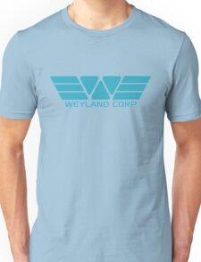 Weyland Corp logo - Alien - Blue Unisex T-Shirt