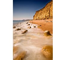 Marble Sea Photographic Print