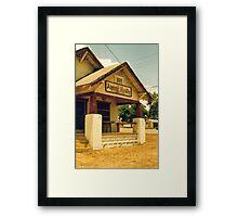 Alpine Reality Framed Print