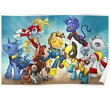 My Little Pony X-Men Poster