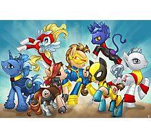 My Little Pony X-Men Photographic Print