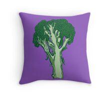 Anatomic Broccoli Throw Pillow