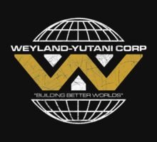 The Weyland-Yutani Corporation Globe Kids Clothes