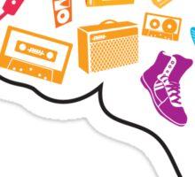 Neuro Music Machine Sticker
