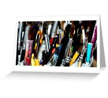 Artistic Point of View Greeting Card